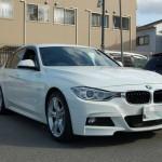 BMW 3シリーズ(F30)が入庫しました。