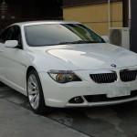 BMW 6シリーズ(E63)が入庫しました。