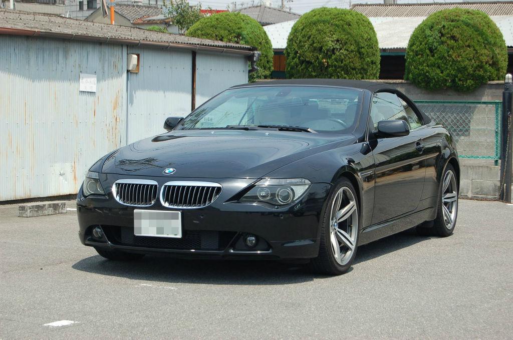 BMW 6シリーズカブリオレ(E64)が入庫しました。
