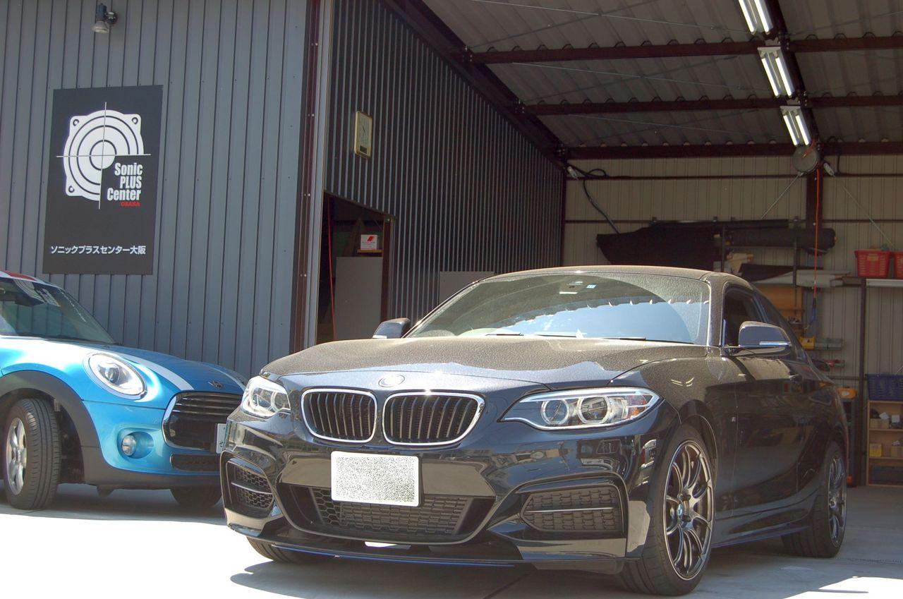 BMW2シリーズM235iクーペ(F22)が入庫しました。